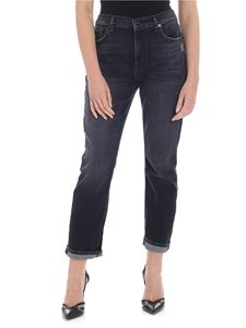 7 For All Mankind - The Relaxed Skinny Jeans in black