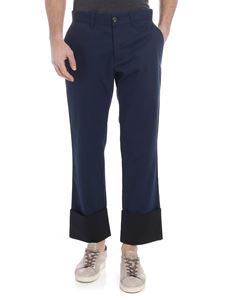 Loewe - Blue trousers with slash pockets