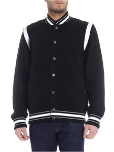 Givenchy - 4G black cardigan with contrasting logo