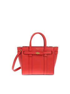 Mulberry - Mini Zipped Bayswater red bag