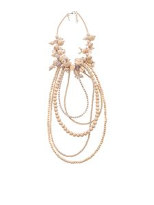 Fabiana Filippi - Michela necklace in pink wood