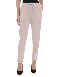 Fabiana Filippi - Spello pink pleated trousers