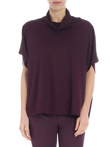 M Missoni - Purple color boxy blouse