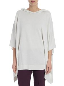 Fabiana Filippi - Ice-colored overfit hooded pullover