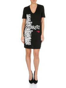 Dsquared2 - V-neck dress with prints