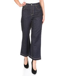 Fendi - Fendi 5-pocket jeans in blue denim
