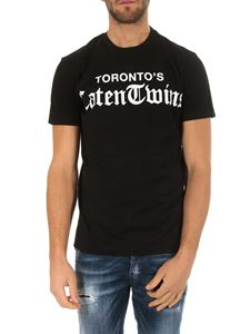 Dsquared2 - Toronto's Caten Twins T-shirt in black cotton