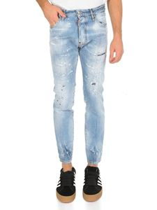 Dsquared2 - Cigarette jeans in light blue denim