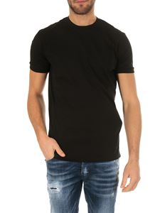 Dsquared2 - Black cotton T-shirt with logo