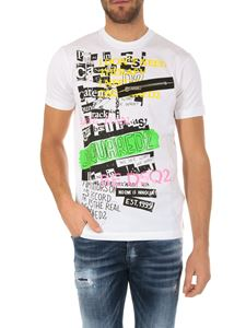 Dsquared2 - Dsquared2 white printed t-shirt