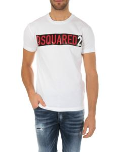 Dsquared2 - Dsquared2 t-shirt in white cotton