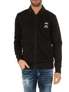 Fendi - Black Karlito sweatshirt with zip