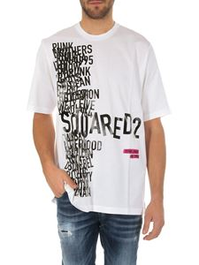 Dsquared2 - Printed Dsquared2 white t-shirt