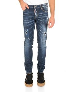 Dsquared2 - Slim Dsquared2 jeans in blue delavé denim