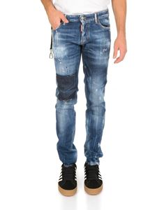 Dsquared2 - Slim jeans in light blue cotton