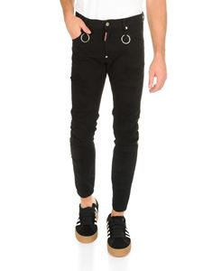 Dsquared2 - Skater jeans in black cotton