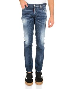 Dsquared2 - Dsquared2 Slim Jeans in blue denim