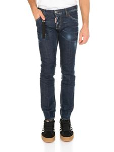 Dsquared2 - Regular Clement jeans in cotone blu