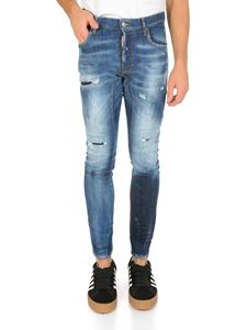 Dsquared2 - Tidy Biker jeans in denim azzurro