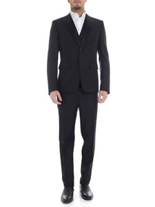 Dsquared2 - London suit in black wool and silk