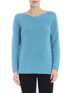 S Max Mara - Giorgio pullover in light blue cashmere
