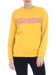 Alberta Ferretti - Wednesday yellow sweatshirt