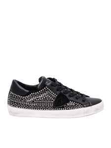 Philippe Model - Black L Paris sneakers with studs