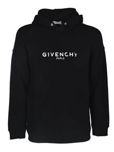 Givenchy - Black destroyed hoodie