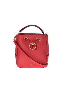 Mulberry - Small Hampstead bucket bag in red