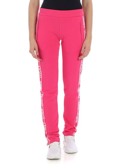 Versus Versace - Fuchsia trousers with logo