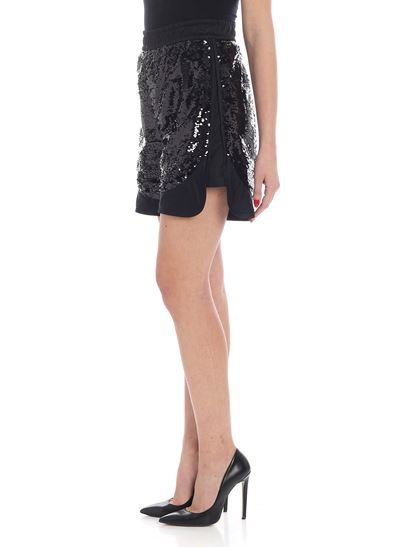 Versus Versace - Black shorts with sequins