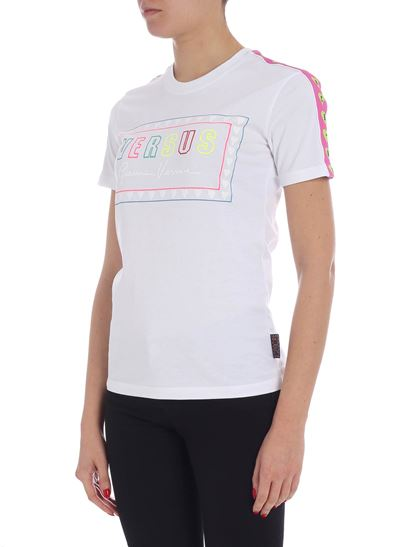 Versus Versace - Versus white t-shirt with logo