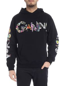Versus Versace - Black sweatshirt with logo