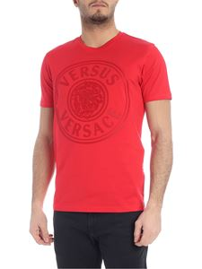 Versus Versace - Red t-shirt with logo