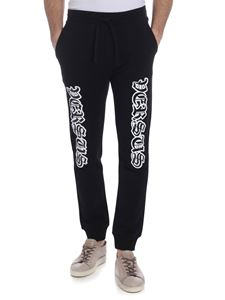 Versus Versace - Black trousers with logo