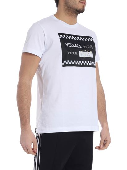 Versace Jeans - White t-shirt with logo