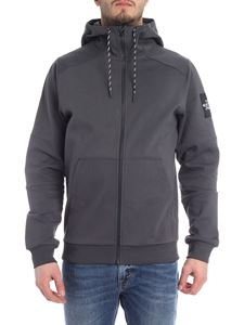 The North Face - Gray hooded sweatshirt