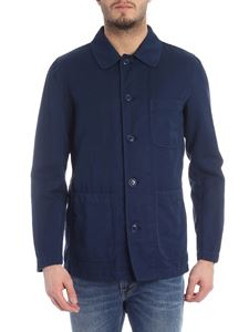 Aspesi - Blue jacket with chest pocket