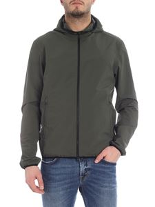Herno - Green hooded jacket