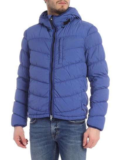 Woolrich - Sundance blue down jacket