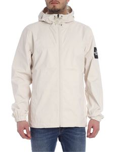 The North Face - Cream-colored jacket with logo