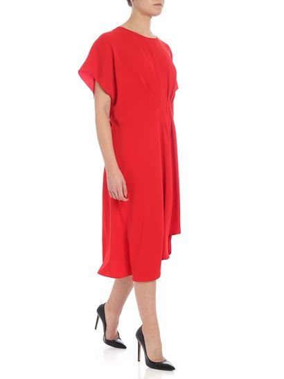 Kenzo - Red dress with pleats