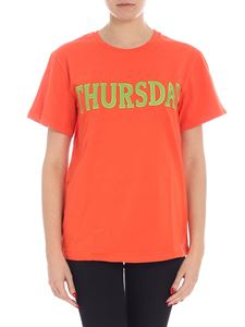 Alberta Ferretti - Thursday orange t-shirt