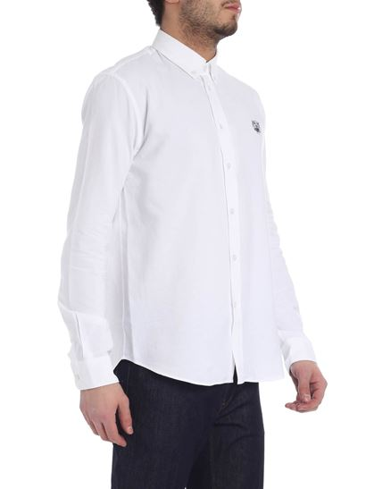 Kenzo - Tiger white shirt with patch