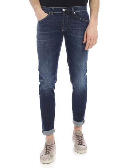 Dondup - George blue 5 pocket jeans