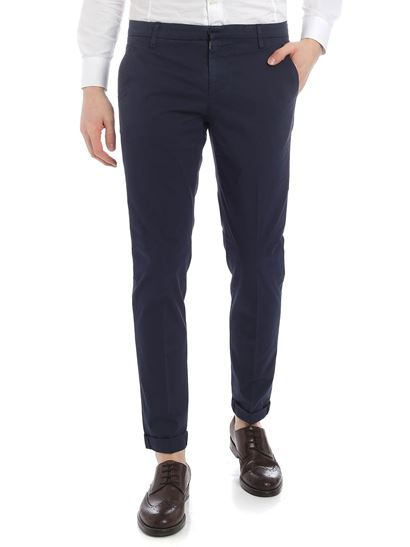 Dondup - Gaubert chino trousers in blue