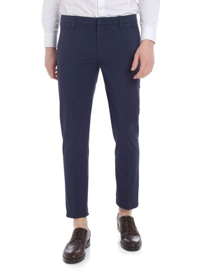 Dondup - Alfredo chino trousers in blue