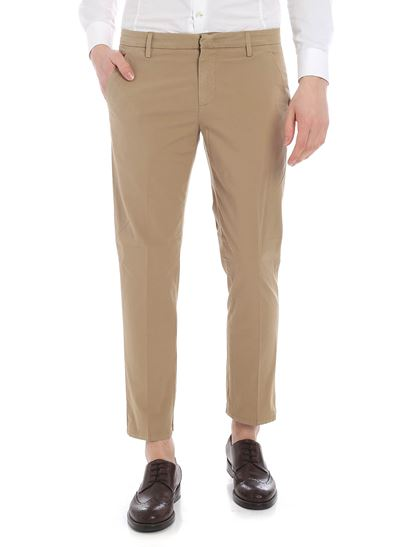 Dondup - Alfredo chino trousers in beige