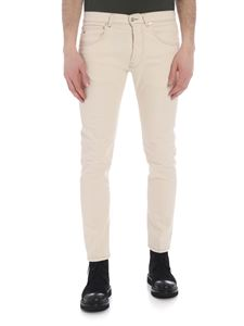 Nine in the morning - Rock jeans in beige cotton