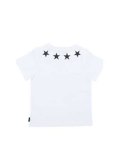 Givenchy - White t-shirt with black vintage stars